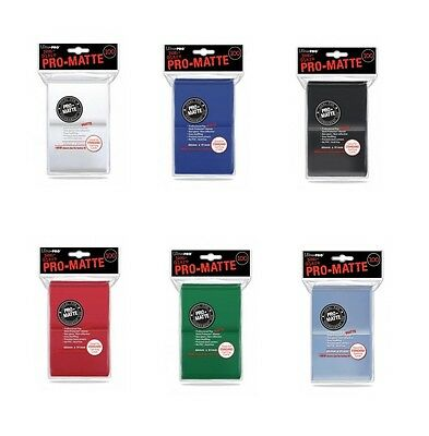 Ultra Pro 100 Standard Size Pro-Matte Card Sleeves Deck Protectors