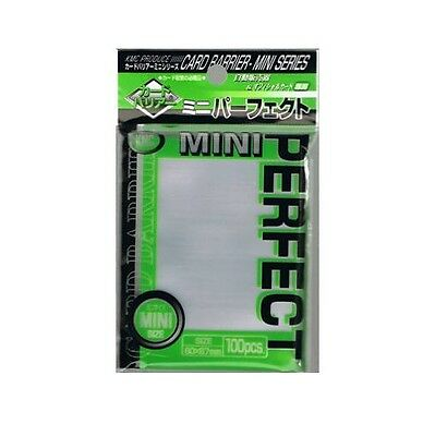 Mini Yugioh Japanese Small Size Card Sleeves Kmc Perfect Size (100) Clear