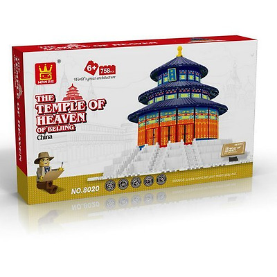 FireBeast Beijing Temple of Heaven Blocks 1511 Pcs Set in Huge Gift Box !! Compa