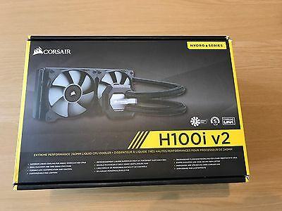 CORSAIR H100i V2 AIO LIQUID COOLER CPU/GPU
