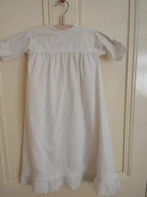 Vintage 1930's baby cotton christening gown