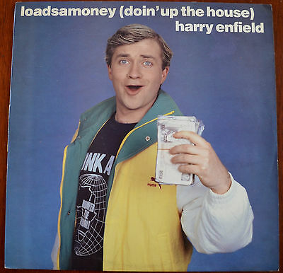 "Harry Enfield – Loadsamoney (Doin' Up The House) 12"" – DOSH 112 – VG+"
