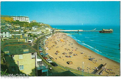 Ventnor, Isle of Wight, England Postcard - Beach and pier