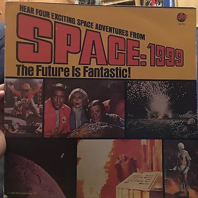 Space1999 Peter Pan Records The Future is Fantastic 1976 LP Gerry Anderson