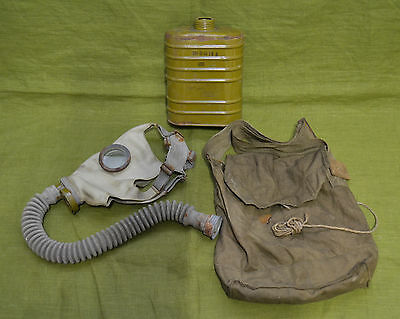 Original WW2 Soviet Russian Gas mask BN T4 with 0-8 mask