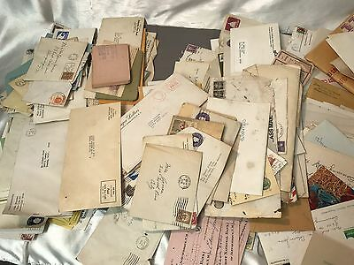 Massive Lot Of Vintage Papers/letters/Correspondence 1930s-1970s 10lbs 1 Person