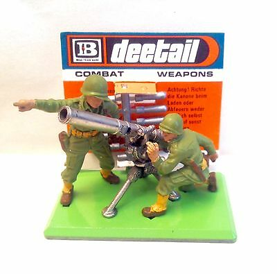 BRITAINS DEETAIL - 7334 WW2 AMERICAN US 75mm GUN + SHELL CARD *GLOBAL DELIVERY*