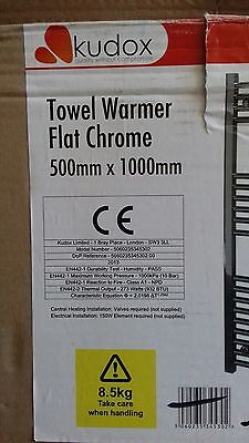 Chrome Towel Rail Warmer Radiator