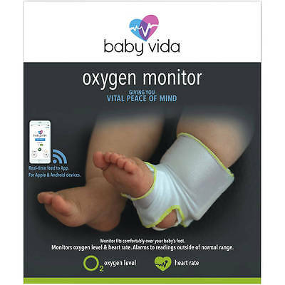 Baby Vida Oxygen Level & Heart Rate Monitor - Retail Packaging FREE SHIPPING
