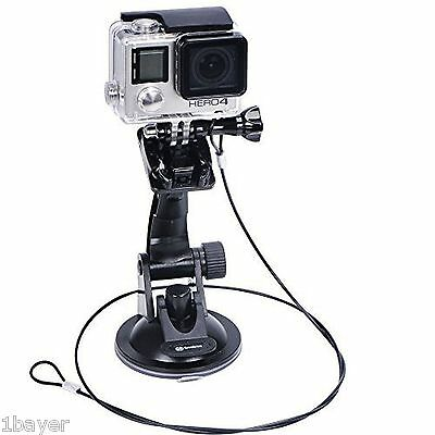 Smatree Gopro Hero Cam Suction Cup Car Vehicle Sport Bike Bicycle Mount Holder