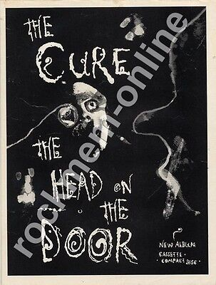 Cure The Head On The Door 'The Face' LP advert