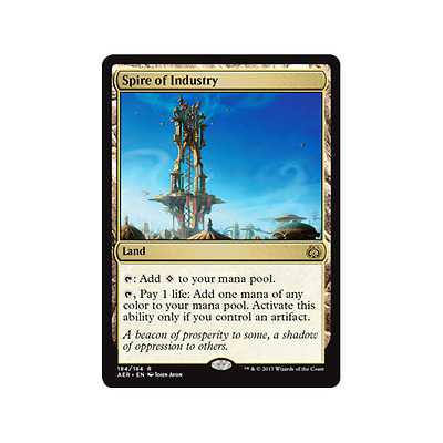 Spire Of Industry - MTG - Magic The Gathering - Rare