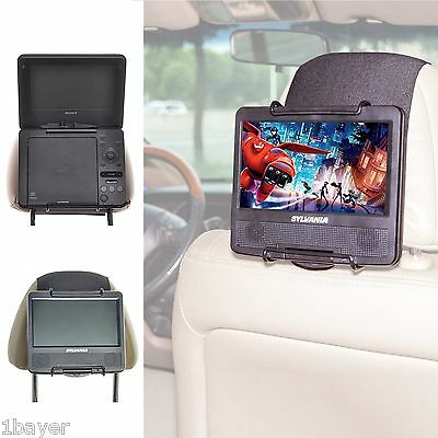 TFY Vehicle Car Portable DVD Blue-ray Movie Video Player Headrest Mount Holder