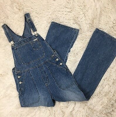 Old Navy Overalls Youth 100% Cotton Denim 14
