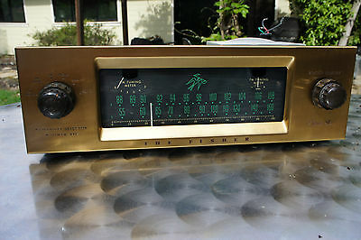 The Fisher 80R Am-Fm Tube Tuner/preamp In Nice Condition