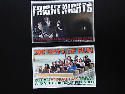 2 Thorpe Park Tickets for Saturday 29th July 2017 (29/07/17) **SCHOOL HOLIDAYS**