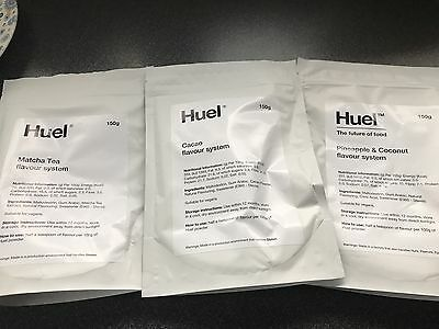Huel Flavour System (pack of three)