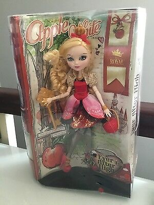 NEW IN BOX Ever After High Apple White  First Wave Doll