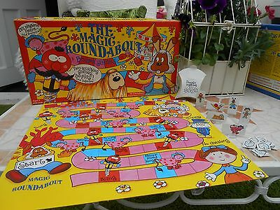 1993 THE MAGIC ROUNDABOUT BOARD GAME,boxed,2 games in 1,COMPLETE,'vintage', RARE
