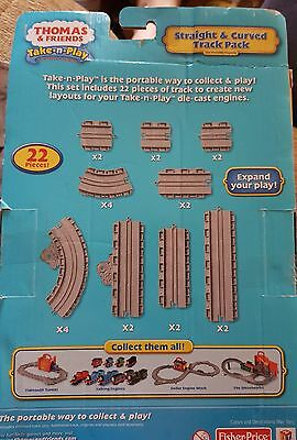 Thomas and Friends Take-n-Play Straight and Curved Track Pack