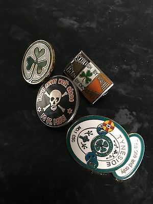 Small Collection of Glasgow Celtic Pin Badges CSC Glasgow  CSC Ireland