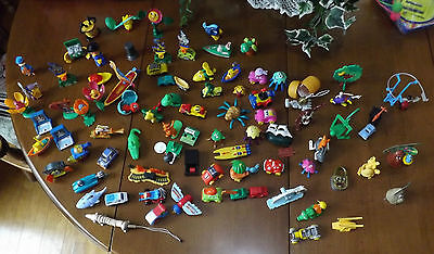 Large Lot of Kinder Toys. - Many different Themes - Some Older, Some Newer