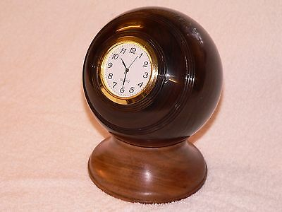 Crown Green Bowl Quartz Clock .
