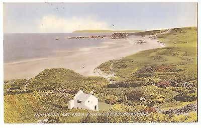 Old Postcard 'Whitepark Bay from Youth Hostel' Co Antrim 1958