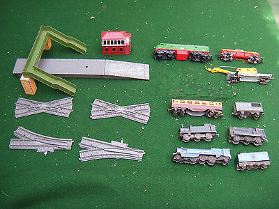 Collection of Lone Star triple O scale railway items.  Locos, coach, wagons  etc