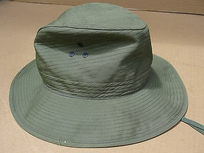 Original 1964 Vietnam U.s. Army/early Special Forces Jungle Hat W/ Mosquito Net