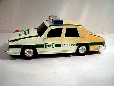 1993 Hess Truck Police Patrol Car Working lights And Sirens