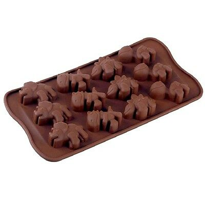 Cool Silicone Chocolate Mould - Silicone - Dinosaurs