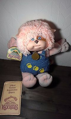 Cabbage Patch Kids VHTF patch koosas VTHF Paw Print Romper