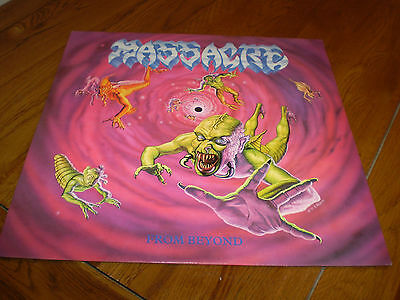 "Massacre from beyond 1991 1st press LP + 7"" Ltd Edtn"