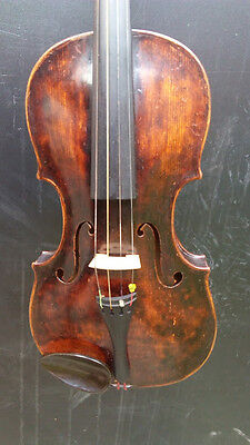 Very old labelled Vintage violin Geige 4/4 by FRANZ PLACHT 17.....