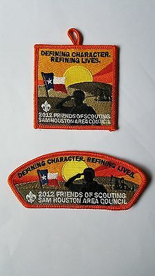 Sam Houston Area Council Friends Of Scouting 2012 Patches