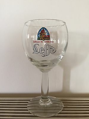 LEFFE 10oz HALF PINT BEER CHALICE GLASS NEW