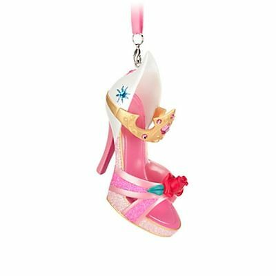 Disney Princess Aurora Sleeping Beauty Shoe Ornament Tree Decoration, Bnwt