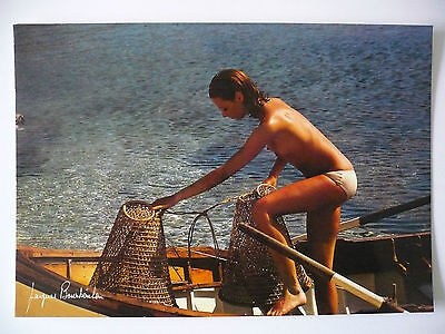 Carte Postale   JACQUES  BOURBOULON    Femme  Woman   Postcard
