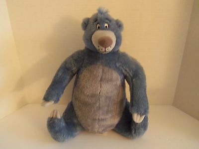 "Disney 13"" Jungle Book Soft Plush BALOO Bear Kohl's"