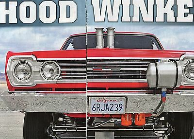 1967 Plymouth Satellite Gtx Gasser 5 Pg Color Article 440