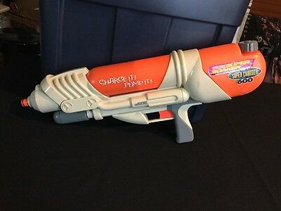 Super Soaker Super charger 600 Charge It Pump It Works