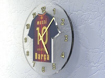 LIONEL MESSI FC BARCELONA Football shirt Legends Clock - LIMITED EDITION !!!!!