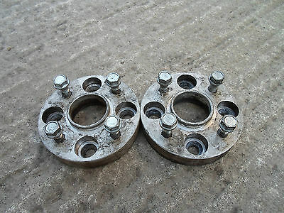 Pair of 4x100 25mm Hubcentic wheel spacers VW cb 57.1