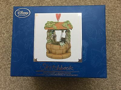 Disney Snow White, Limited Christmas Ornament Sketchbook Tree Decoration, Bnib