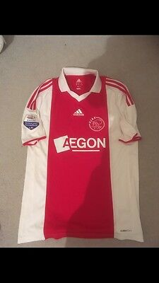 ajax football shirt NOT Player Issue Or Match Worn But From Amsterdam Store