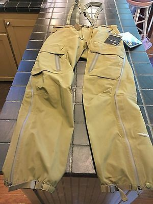 NWT Sitka Gear GORETEX Stormfront Pant, Size L, Moss, Waterproof Hunting Pant