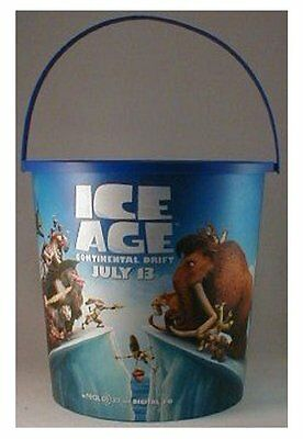 Ice Age: Continental Drift Theater Exclusive Promotional 130 oz Plastic Popcorn