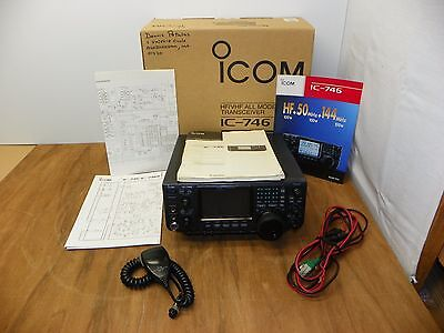 "Icom IC-746 HF/2/6 Meter With Original Box and Manual  ""TECH SPECIAL"""