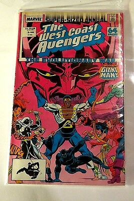 West Coast Avengers 1988 Super sized Annual Marvel Copper Age  CB1961
